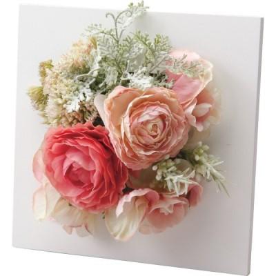 プリマ アートフラワーフレーム(造花) フェミニンピンク  PRSY-0076 (ギフト対応不可)