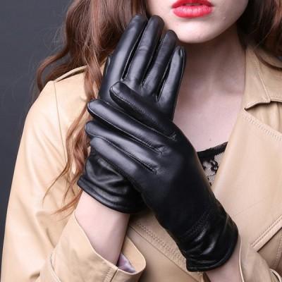 本革手袋 グローブ レディース メンズ ペア 羊革 ペア手袋 裏起毛 glove 男性用 女性用 バイク手袋 可愛い 肌触り 温かさ抜群