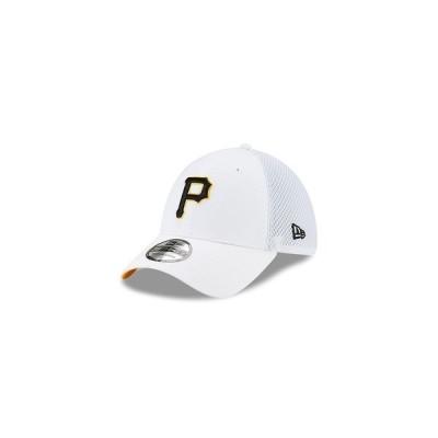 ニューエラ 帽子 アクセサリー レディース Pittsburgh Pirates Stateside 39THIRTY Cap White