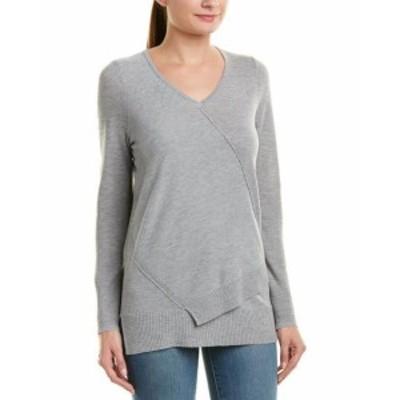 ファッション ドレス Design History Wrap Front Sweater