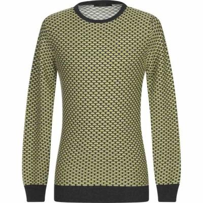 ブイネック VNECK メンズ ニット・セーター トップス sweater Light green