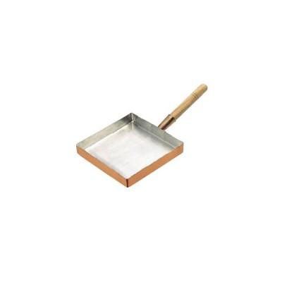(エッグパン)玉子焼 関東型 銅製 15cm