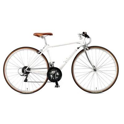 送料無料 RALEIGH(ラレー) クロスバイク Radford Classic (RFC) パールホワイト