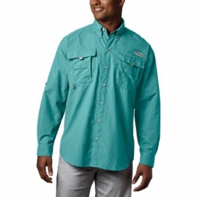 コロンビア Columbia メンズ シャツ トップス Bahama II Long - Sleeve Shirt Gulf Stream