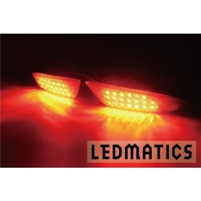 (LEDMATICS商品)ZNE16カローラフィールダー後期 純正加工LEDリフレクター T15-40(AT)