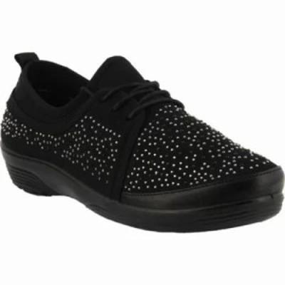 スプリングステップ スニーカー Tinty Sneaker Black
