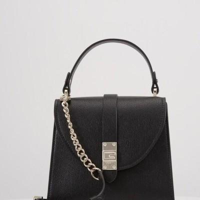ゲス レディース アクセサリー NEREA TOP HANDLE FLAP - Handbag - black