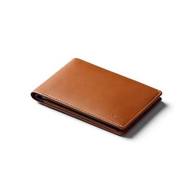 Bellroy Leather Travel Wallet(パスポートホルダー、RFID保護搭載、渡航文書用スペース、トラベルペン付き)- Caram
