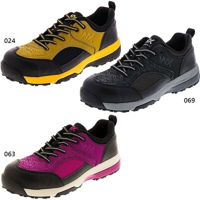 3E幅 テクシーワークス メンズ ソフト ライト フレキシブル プロテクティブスニーカー シューズ ベルクロ 安全靴 作業靴 WX-0006