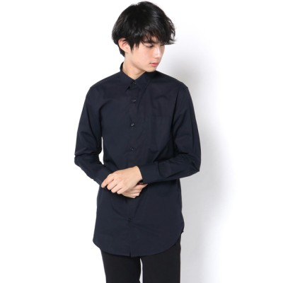 新疆綿レギュラーフィットブロードシャツ