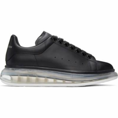 アレキサンダー マックイーン Alexander McQueen メンズ スニーカー Black and Transparent Oversized Sneakers Black/Black/White trans
