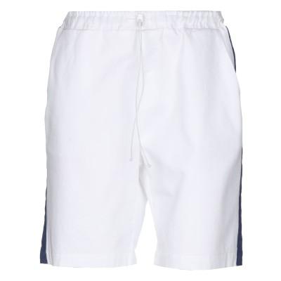 メルシー ..,MERCI バミューダパンツ ホワイト 38 コットン 97% / ポリウレタン 3% バミューダパンツ
