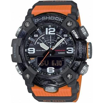 カシオ CASIO 正規品 時計 腕時計 G-SHOCK Gショック メンズ ブランド GG-B100-1A9JF MASTER OF G-LAND MUDMASTER アナデジ オレンジ