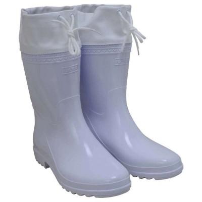 藤原産業 セフティ−3 刈払作業用長靴 白 中敷付 25CM (納期およそ1週間〜10日)