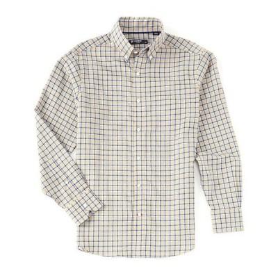 ダニエル クレミュ メンズ シャツ トップス Plaid Poplin Long-Sleeve Woven Shirt
