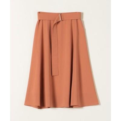SHIPS for women / シップスウィメン SHIPS any:ベルトフレアスカート