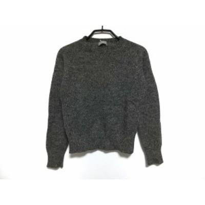 マーガレットハウエル MargaretHowell 長袖セーター サイズ2 M レディース - ダークグレー【中古】20200624