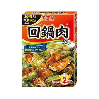 丸美屋食品工業 お得な2回分 回鍋肉の素 140g ×10個