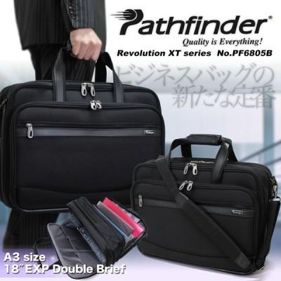 ビジネスバッグ メンズ A3 ブリーフケース ブランド 2Way 斜めがけ Pathfinder パスファインダー Revolution XT ナイロン 送料無料