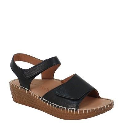 ラモールドピード レディース サンダル シューズ Yahya Leather Espadrille Sandals Black Lamba