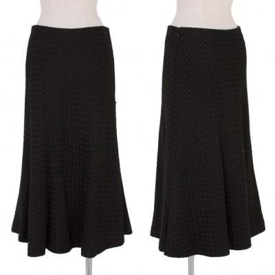 ホンマHOMMA ファンシーツイードスカート 黒3 【レディース】