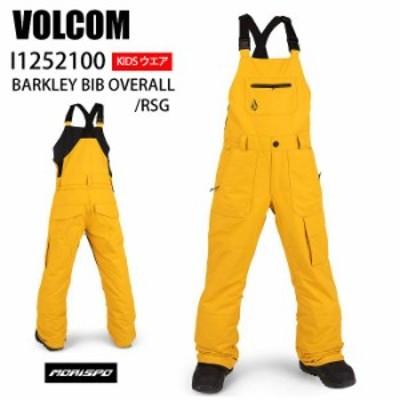 VOLCOM ボルコム ウェア BARKLEY OVERALL RSG 20-21 スノーボード ボード ジュニア ユース 子供用 パンツ ビブ オーバーオール