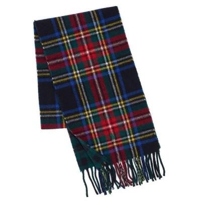 ラルフローレン マフラー・ストール・スカーフ アクセサリー メンズ Men's Reversible Scottish Tartan Scarf Black Stewart