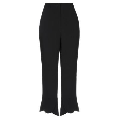 SLOWEAR パンツ ブラック 42 アセテート 52% / シルク 48% パンツ