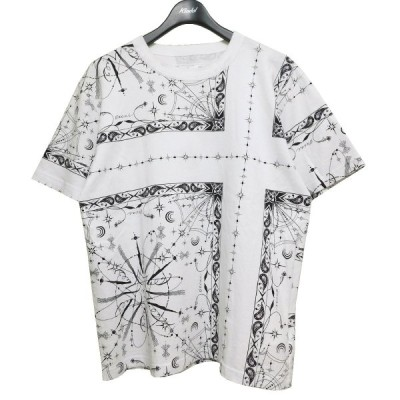 sacai 2020AW Dr. Woo Bandana Print T-shirt バンダナプリントTシャツ ホワイト サイズ:3 (池袋店) 21