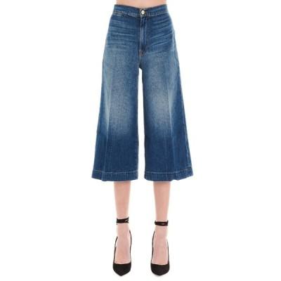 フレーム レディース デニムパンツ ボトムス Frame High Rise Culotte Jeans -