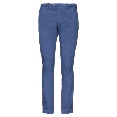 B SETTECENTO パンツ ダークブルー 30 コットン 97% / ポリウレタン 3% パンツ