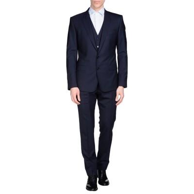 ドルチェ & ガッバーナ DOLCE & GABBANA スーツ ダークブルー 44 バージンウール 97% / ポリウレタン 3% スーツ