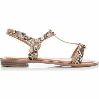 モーダインペレ Moda in Pelle レディース サンダル・ミュール フラット シューズ・靴 Niccie Flat Casual Sandals Natural