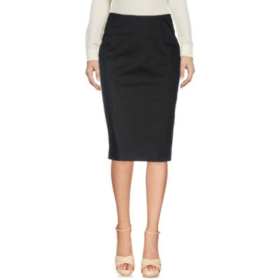 PESERICO SIGN 七分丈スカート  レディースファッション  ボトムス  スカート  ロング、マキシ丈スカート ブラック