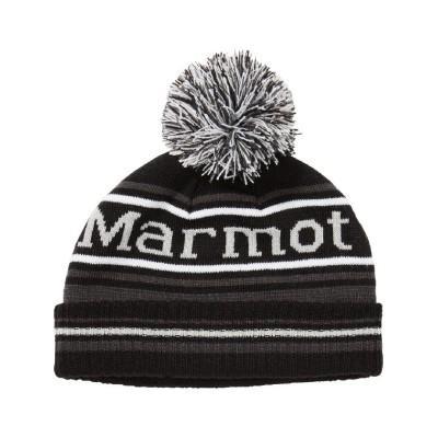 (Marmot/マーモット)【インポート】Kid's Retro Pom Hat / キッズレトロポムハット/メンズ ブラック系