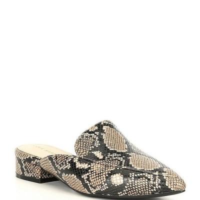 コールハーン レディース サンダル シューズ Piper Snake Print Leather Loafer Mules