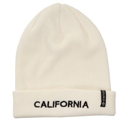 Swivel帽子RIB WACHT ニット帽 898SW9ST5166 WHTホワイト