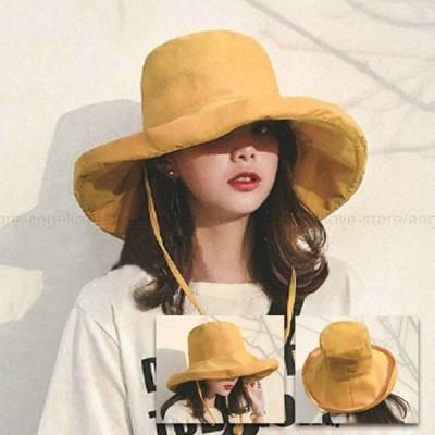母の日 UVカット 帽子 UV つば広 レディース帽子 ハット 日よけ 折りたたみ 大きいサイズ 紫外線対策 日焼け対策 熱中症 UV対策 小顔効果抜群 春夏