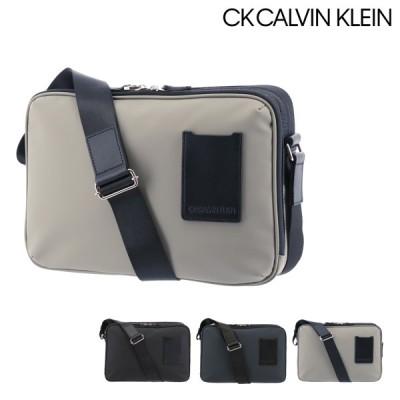 シーケーカルバンクライン ショルダーバッグ 本革 メンズ スペース 880102 CK CALVIN KLEIN | 牛革 レザー 撥水