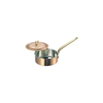 WADASUKE/和田助製作所  SW 銅 浅型 片手鍋(蓋付)18cm