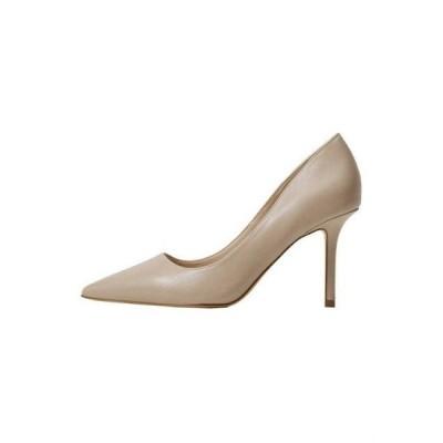 マンゴ レディース 靴 シューズ Classic heels - ecru