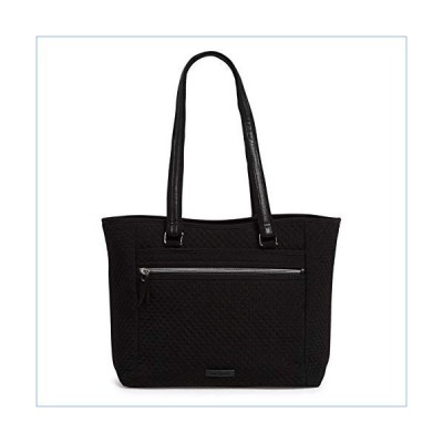 Vera Bradley Women's Microfiber Work Tote Bag, Classic Black並行輸入品