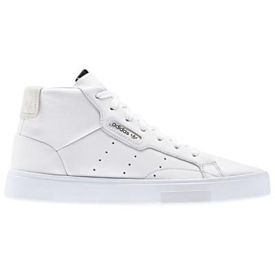 アディダス adidas Originals レディース スニーカー シューズ・靴 Sleek Mid White/White/Crystal White