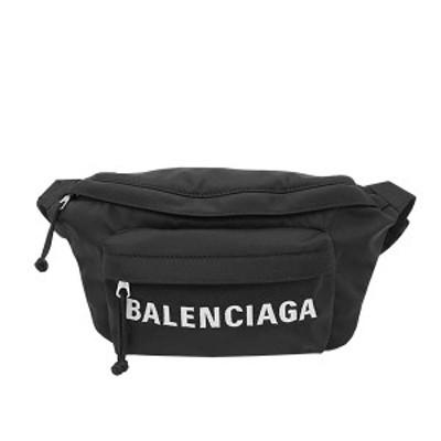 バレンシアガ BALENCIAGA バッグ ベルトバッグ ボディバッグ 533009 HPG1X 1090 WHEEL BELTPACK ホイール ベルトパック BLACK ブラック+