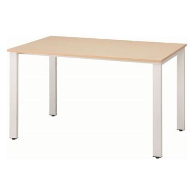 イノウエ/REVミーティングテーブル W1200×D750 ホワイト脚×ナチュラル