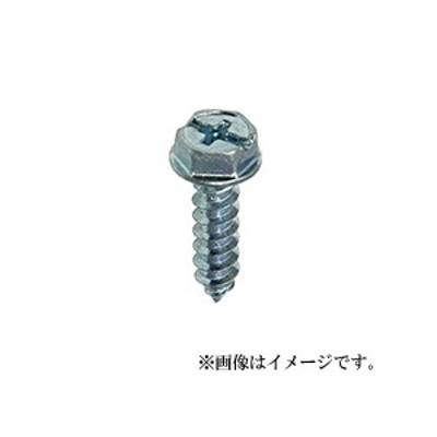 【メール便可】八幡ねじ 六角フランジタッピング ZU 6×30 7本入