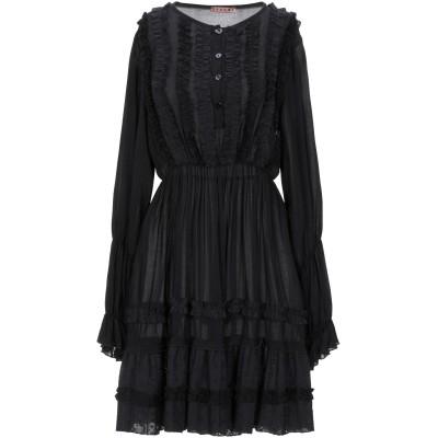 DV Roma ミニワンピース&ドレス ブラック XS レーヨン 100% ミニワンピース&ドレス