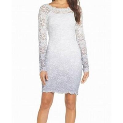 Sequin  ファッション ドレス SEQUIN HEARTS NEW Gray Size S Juniors Glitter Lace Ombre Sheath Dress