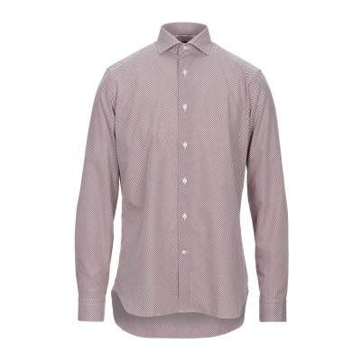 UNGARO シャツ ボルドー 39 コットン 100% シャツ