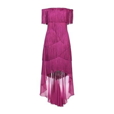 BADGLEY MISCHKA ミニワンピース&ドレス パープル 8 ポリエステル 100% ミニワンピース&ドレス